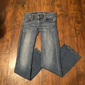 American Eagle Bootcut Jeans, Light Wash